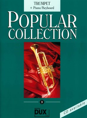 Edition Dux Popular Collection 9 Trumpet+P