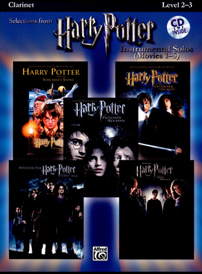 Alfred Music Publishing Harry Potter Clarinet