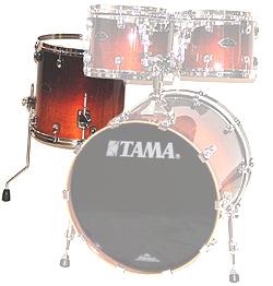 "Tama 14""x14"" Stand Tom Perf B/B DCF"