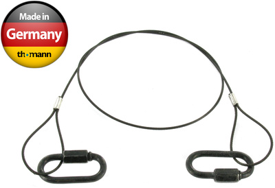 Stairville Safety 60cm/1,5mm Black