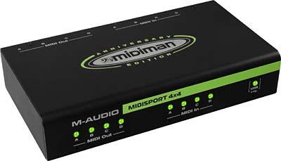 M-Audio MIDISport 4X4 AE USB B-Stock