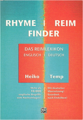 Alfred Music Publishing Rhyme/Reim Finder