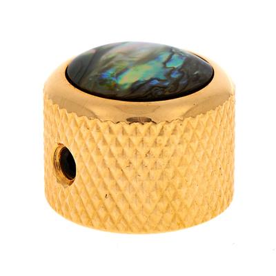 Q-Parts Dome Potiknob Abalone GD