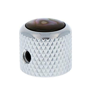 Q-Parts Mini Dome Potiknob Abalone CR