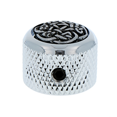 Q-Parts Dome Potiknob Celtic Weave C