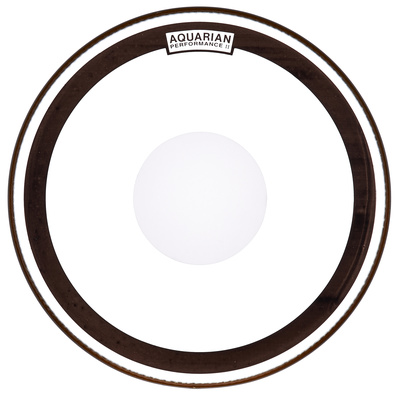 "Aquarian 18"" Performance II Clear Dot B"