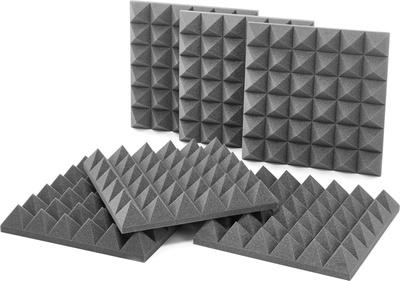 "Auralex Acoustics 4"" Studiofoam Pyramids B-Stock"