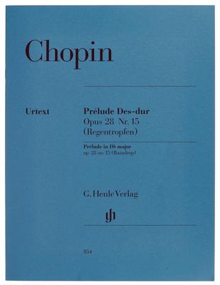 Henle Verlag Chopin Prélude Des-Dur op. 28