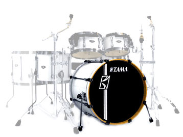 "Tama SKB 22""X20"" Superstar Bass-SGW"