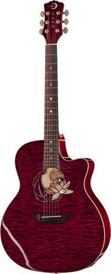 Luna Guitars Flora Lotus