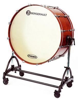 """Bergerault BCBD01 Concert Bass Drum 32"""""""