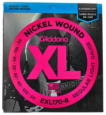 Daddario EXL170-8