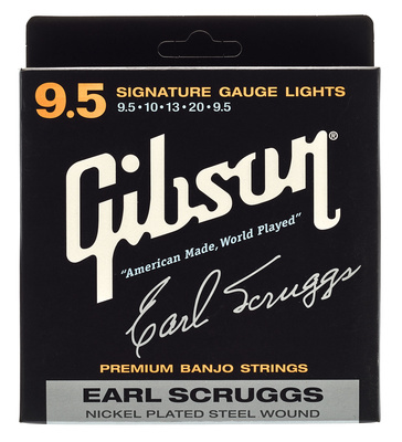 Gibson Earl Scruggs Banjo Strings L