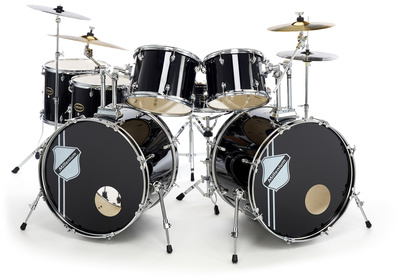 Millenium MX222 Double Bass Drumset Rock