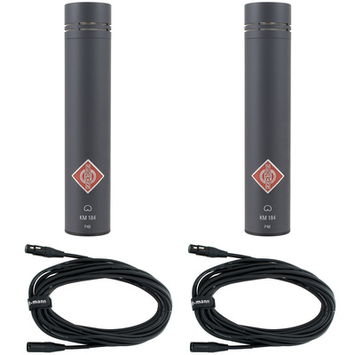 Neumann KM184 MT Stereo Set Bundle