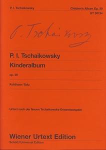 Wiener Urtext Edition Tschaikowsky Kinderalbum