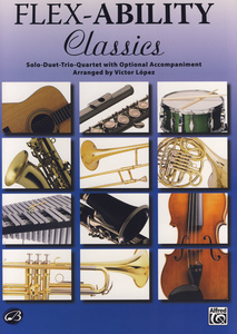 Alfred Music Publishing Flex-Ability Classics T-Sax