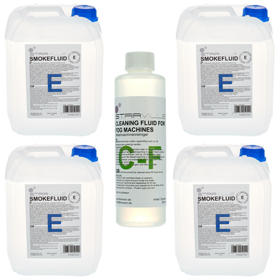 Stairville E Fluid Bundle 4x 5l
