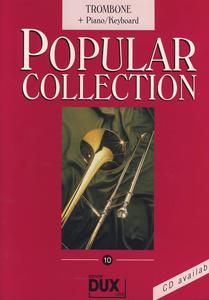Edition Dux Popular Collection 10 Trb+Pian