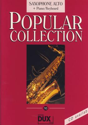 Edition Dux Popular Collection 10 A-Sax+P