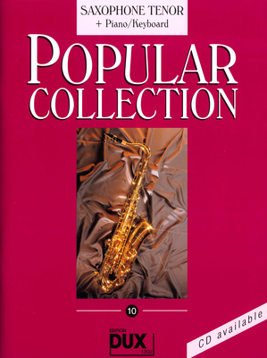 Edition Dux Popular Collection 10 T-Sax+P