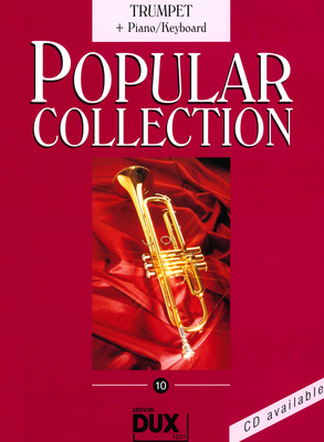 Edition Dux Popular Collection 10 Tr+Piano
