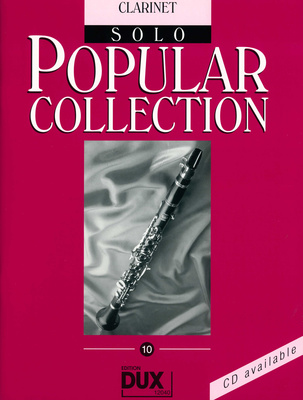 Edition Dux Popular Collection 10 Clarinet