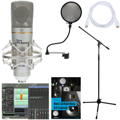 the t.bone SC 440 USB Podcast Bundle