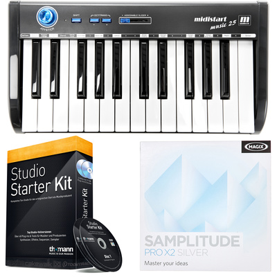 Miditech Midistart music 25 Bundle