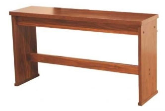 Viscount Organ Bench Dark Oak 32