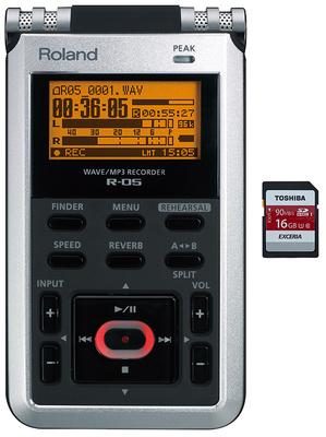 Roland R-05 8GB SD Card Bundle