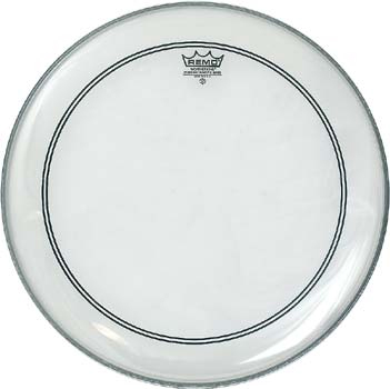 "Remo 16"" Powerstroke 3 Clear Bass"
