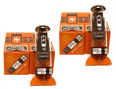 TAD RT254 Tubes EL34-SVT Quartett