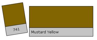 Lee Filter Roll 741 Mustard Yellow