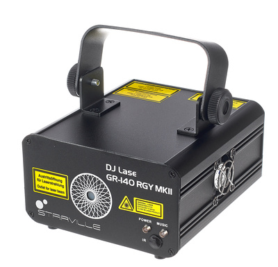 Stairville DJ Lase GR-140 RGY MKI B-Stock