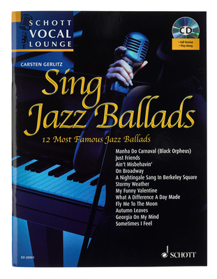 Schott Vocal Lounge Sing Jazz Ballads