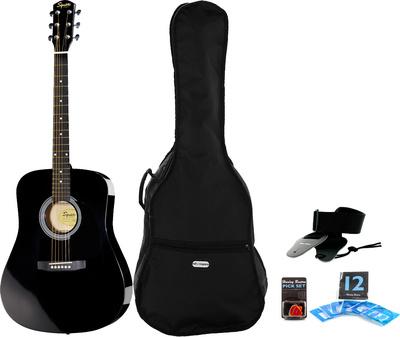 Fender Squier SA-105 BK Bundle