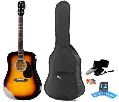 Fender Squier SA-105 SB Bundle