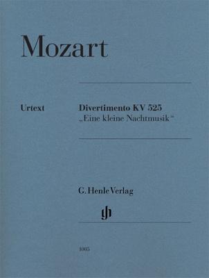 Henle Verlag Mozart Divertimento Nachtmusik