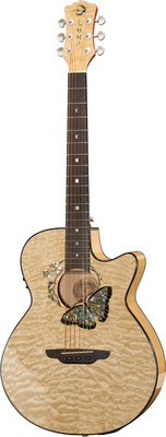 Luna Guitars Fauna Butterfly