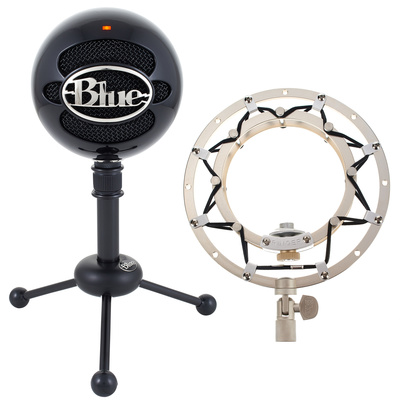 Blue Snowball Black Ringer Bundle
