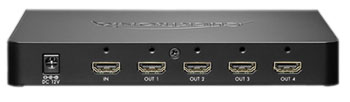 Clicktronic HDMI Splitter 1in/4out