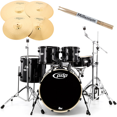 DW PDP Mainstage -Black- Bundle
