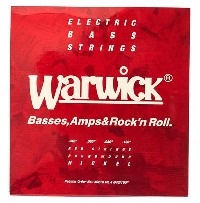 Warwick 46210 Red Strings Nickel