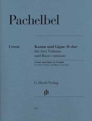 Henle Verlag Pachelbel Canon Gigue D Major