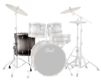"Pearl 14""x14"" VML Black Silver #368"