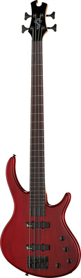 Epiphone Toby Deluxe-IV Bass Trans Red