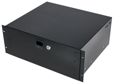 Adam Hall 87404-A Rack Drawer Alu 4U