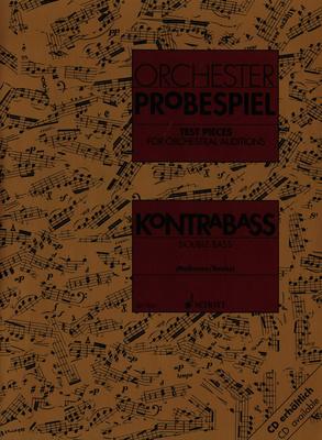 Schott Orchester Probespiel DoubleBas