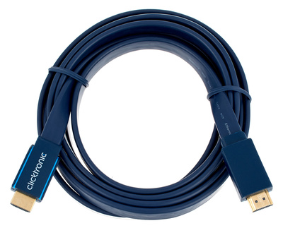 Clicktronic HDMI Casual Flat Cable 3m